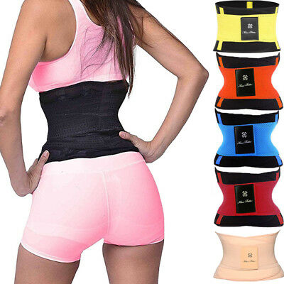 Waist Trainer Belt Body Shaper Belly Wrap Trimmer Slim Compression Workout Band