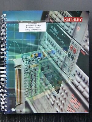 Keithley 6517A electrometer operation manual