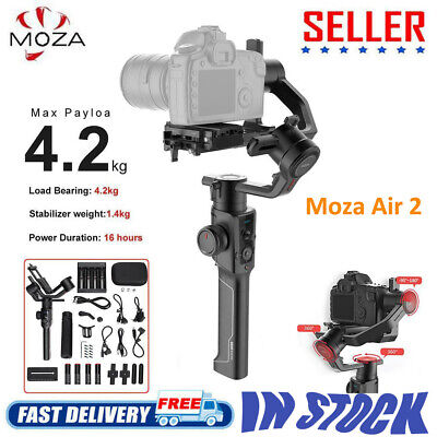 Moza Air2 4-Axis Bluetooth Handheld Gimbal Stabilizer for Mirrorless/DSLR Camera