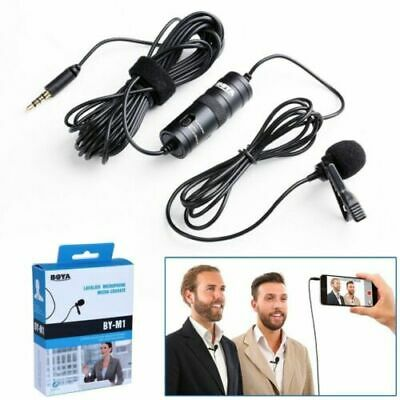 BOYA BY-M1 Omnidirectional Lavalier Microphone for Canon Nikon DSLR iPhone LJ
