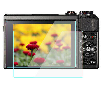 2X G9XII Screen Protector Film Tempered Glass For Canon G9 X / G7 X Mark II