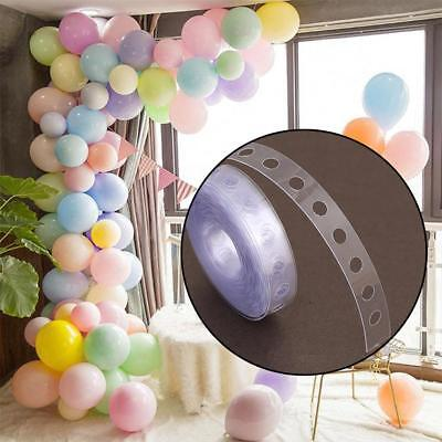 New 5m Balloon Chain Tape Arch Connect Strip for Wedding Birthday Party Hot Sale