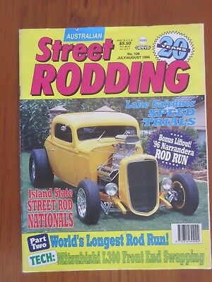 Australian Street Rodding magazine No 109 July August 1996 Narrandera Souvenir