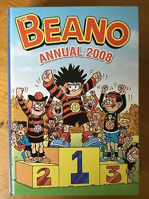 The Beano Book Annual 2008 (Price Unclipped)