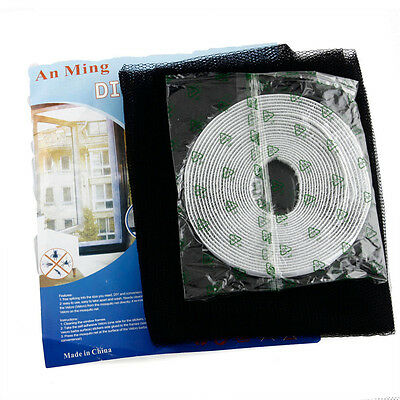 Anti-Insect Fly Bug Mosquito Window Door Curtain Net Mesh Screen Protector New