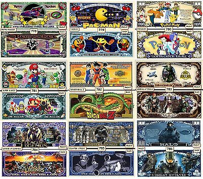 Wholesale Special - One Thousand (1000) Funny Money Novelty Notes - Read Details