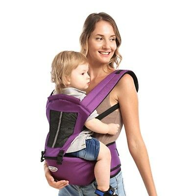 Portable Newborn Baby Carrier Hip Seat Backpack Breathable Ergonomic Sling Wrap