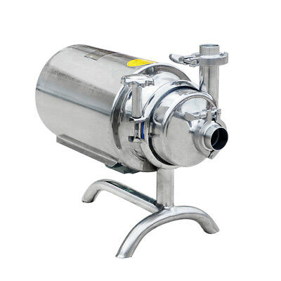 3T/h 0.75KW Sanitary Pump Sanitary Beverage Milk Delivery Pump Stainless Steel