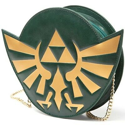 NEW OFFICIAL Nintendo Legend of Zelda Triforce Ladies Purse Wallet with Chain