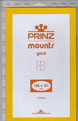 Prinz/Scott Stamp Mounts 198x151 mm Clear For Cherokee Strip New Pack 5 Holders