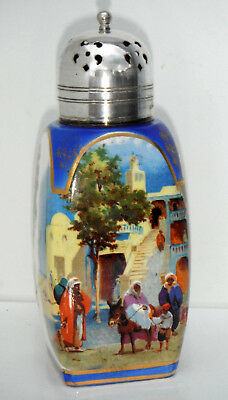 Lancasters Hanley Sugar Shaker Silver Plated Middle East Decoration