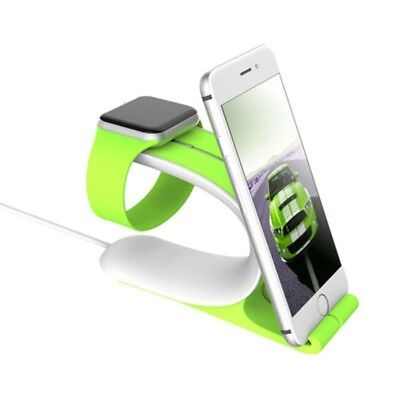 Charging Dock Stand Bracket Holder Kit fit For iPhone iwatch Portable Hold Rack