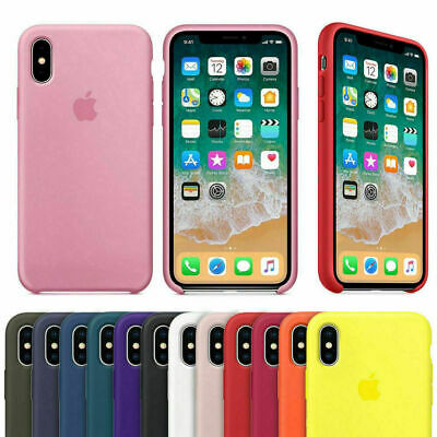 For iPhone 11 Pro XS Max XS XR X Shockproof Silicone Phone Back Cover Case