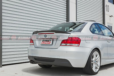 M4 Style Carbon Fibre Trunk Spoiler For MY04-13 BMW E82 1-Series / 1M Coupe (CF)