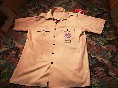 BSA Eagle Scout shirt Youth 2X Large Made in USA
