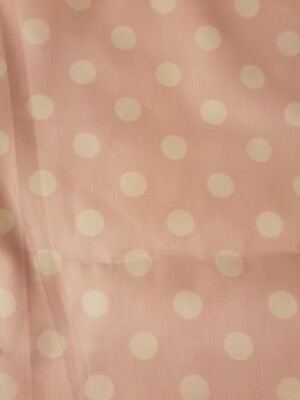 **SALE**Baby Cot Crib Rail Cover Teething Pad pink with white dot padding