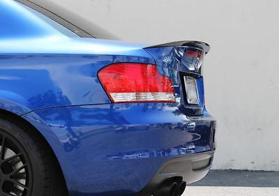 M Performance Style Carbon Trunk Spoiler For MY04-13 BMW E82 1-Series / 1M (CF)