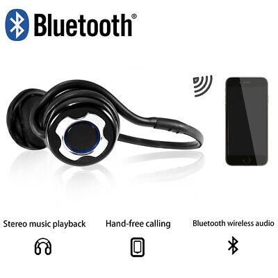 Noise Cancelling Bluetooth Wireless Headset Over The Ear Headphones
