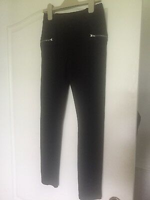 Black girls trousers 10/11 Years