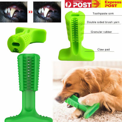 Pet Brushing Stick Teeth Cleaning Chew Toy Toothbrush For Dogs Pet Oralcare USA