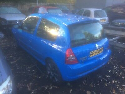 Clio 182 2004 track car/race car unfinished project