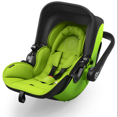 Kiddy Evolution Pro 2 Infant Baby Car Seat Carrier Lime Green Group 0+ BNIB