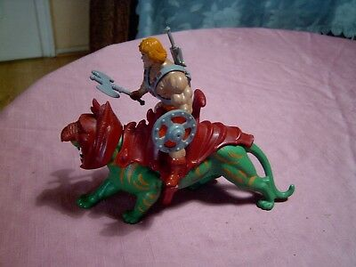 Masters of the Universe / He-Man & Battle Cat / 80er Jahre / Mattel