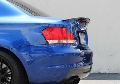 M Performance Style Trunk Spoiler For MY04-13 BMW E82 1-Series / 1M (UNPAINTED)