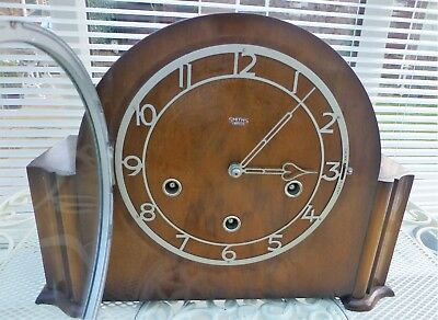 Smith's Westminster Chiming  Mantel Clock  8 day Model Rivers 1951- 53