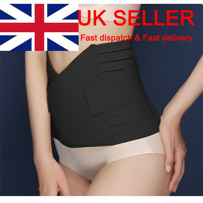 Postpartum Slimming Belt Belly Wrap Waist Recovery Girdle Postnatal Maternity UK