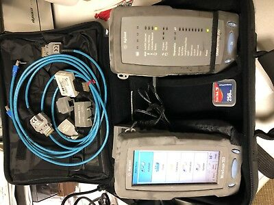 Agilent Wirescope 350 With Accessories And Case