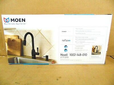 Moen Noell Single-Handle Pull-Down Sprayer Kitchen Faucet