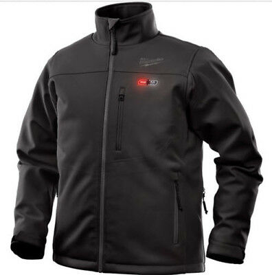 Milwaukee 202B-20XL M12 Heated Toughshell Jacket Only Xl (Black)