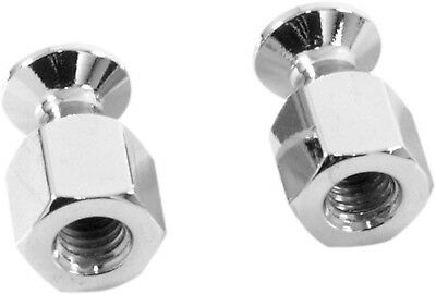 """Chrome Emgo Bungee Nut for 5/16"""" x 18 SAE Thread Bolts for Motorcycle Luggage"""