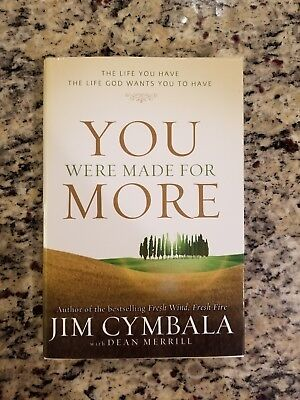 New Christian Growth Book You Were Made For More Jim Cymbala