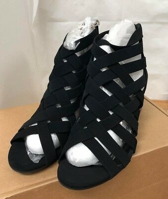 85aec387ae50c City Classified MVE Shoes Women's Peep Toe Lace Up Cut Out Gladiator, SIZE  11