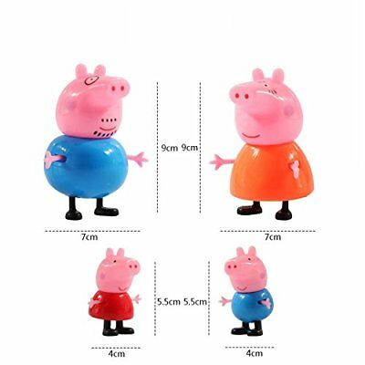 Pig Mini Family Bag Peppa Bonus Purse George Friends Playset Cute Kids Toys Dog