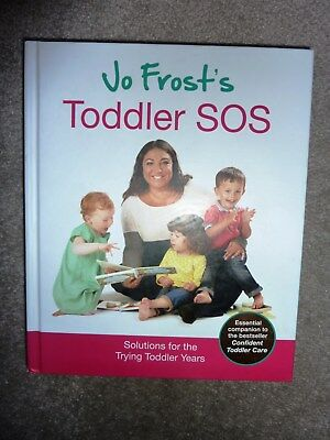 Jo Frost's Toddler SOS Book - Good Condition