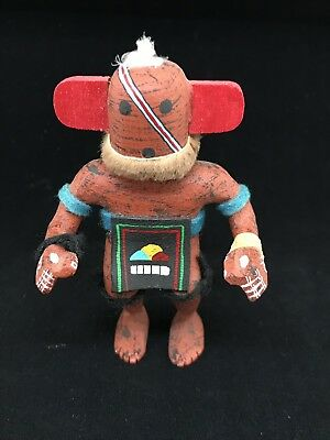 Vintage Miniature Kachina Katsina Doll - Henry Shelton Oraibi AZ Hopi Indian