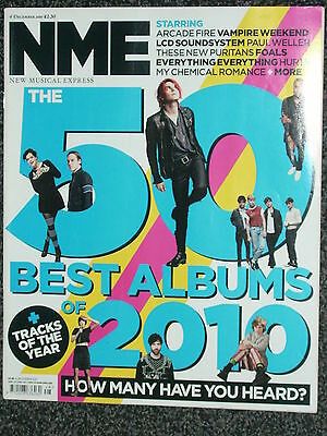 NME - MUSIC MAGAZINE - 04 DECEMBER 2010 - 50 BEST ALBUMS OF 2010 inc PAUL WELLER