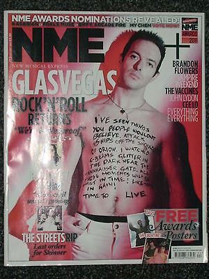 Nme - Music Magazine - 29 January 2011 - Glasvegas. Pj Harvey. The Streets (Rip)