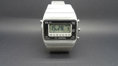 VINTAGE OMEGA Constellation LCD QUARZ working 100% perfectly;  aus den 70ern