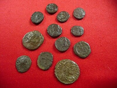 Lot of late Roman ,early christian era coins AE4
