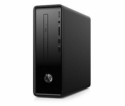 HP 290-p0043w Slim Celeron G4900 3.1GHz 4GB RAM 500GB HDD Win 10 Home Black