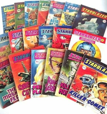 Starblazer collection, complete, all 281 issues from Apr 1979 – Jan 1991, VGC