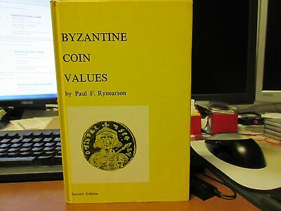 1971  Byzantine Coin Values / Paul F Rynearson 2nd Edition