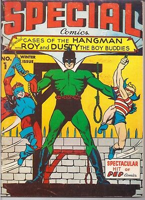 Flashback (1971-76) #4 Reprints Special Comics 1 The Hangman, Roy & Dusty  /1546