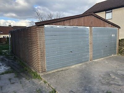 Concrete Double Garage