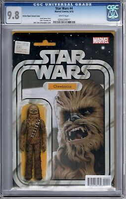 Star Wars 4 Volume 3 Action Figure Variant Cover Chewbacca Cgc 9.8
