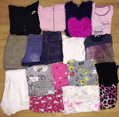 0765325b7d5c GIRLS WINTER CLOTHES bundle age 10-11 years - £23.00